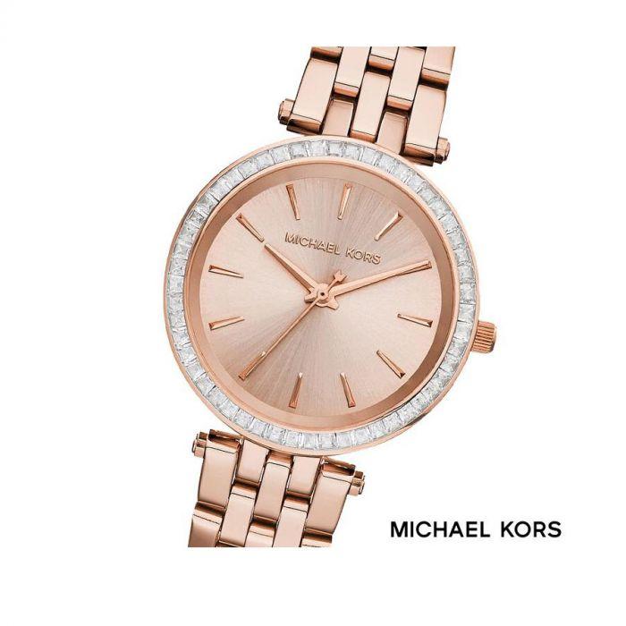 Michael Kors Darci Rose Gold Stainless Steel Women's Watch MK3366