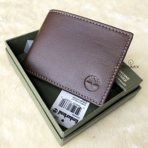 Timberland Blix Slimfold Leather Men's Wallet Brown D10222/01
