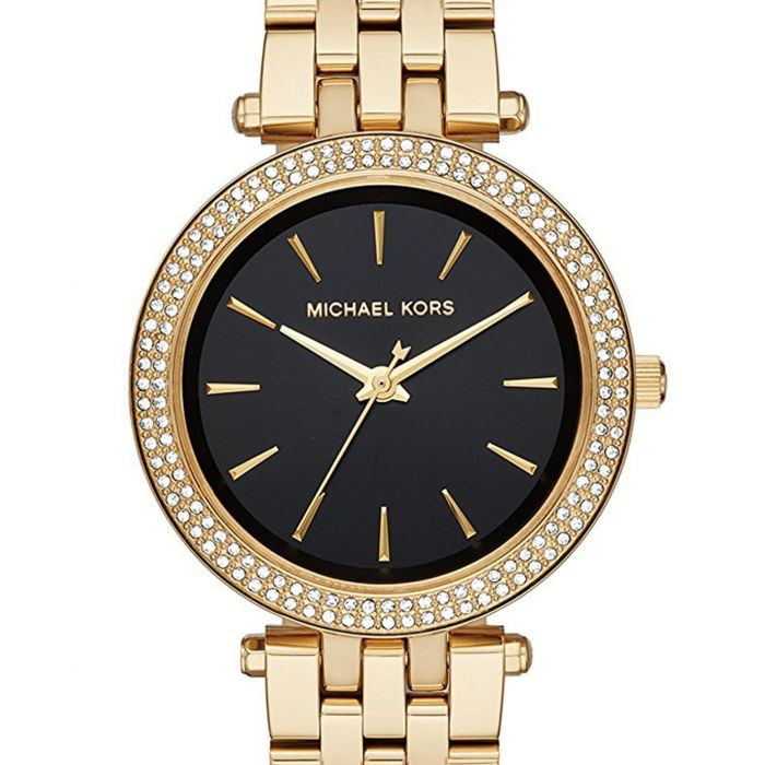 Michael Kors Darci Gold Tone Crystal Pave Women's Watch MK3738
