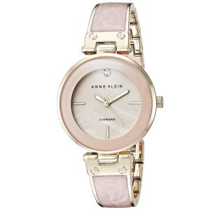 Anne Klein Diamond Blush Mother Of Pearl Women's AK/2512LPGB