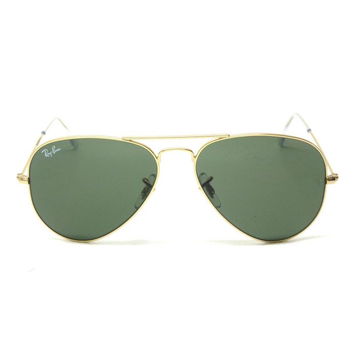 Ray-ban Aviator Arista Green Classic Sunglasses RB3025 W3234 55-14