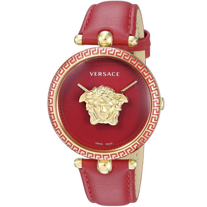 Versace Palazzo Empire Red Swiss Women's Watch VCO120017