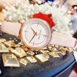 Michael Kors Cinthia Mother Of Pearl Blush Leather Women's Watch MK2663