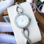 Bulova Crystal Markers Infinity Pendant Women's Watch Box Set 96X129