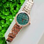 JBW Luxury Swarovski Gala Green Dial Women's Watch J6356B
