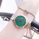JBW Luxury Swarovski Gala Green Dial Women's Watch J6356B
