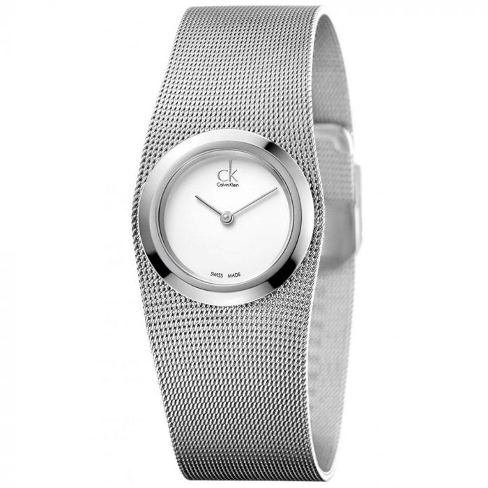 Calvin Klein Impulsive Mesh Stainless Steel Women's Watch K3T23126