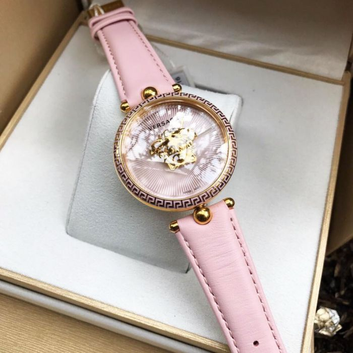 Versace Palazzo Empire Pink Swiss Women's Watch VCO030017