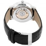 Frederique Constant Slimline Heart Beat Automatic Black Leather Men's Watch FC-312S4S6