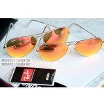 Ray-ban Orange Flash Aviator Sunglasses RB3025 112/69 62