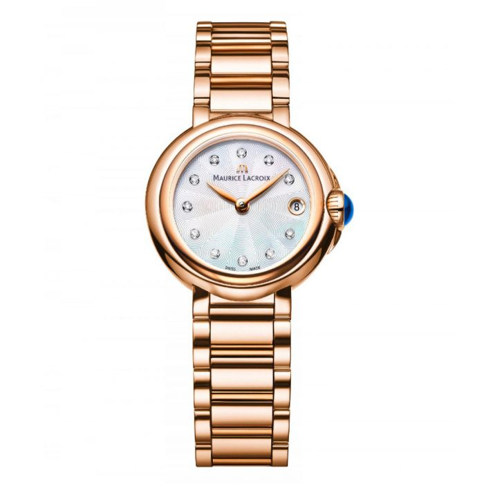 Maurice Lacroix Fiaba Swiss Quartz Gold Women's Watch FA1003-PVP06-170