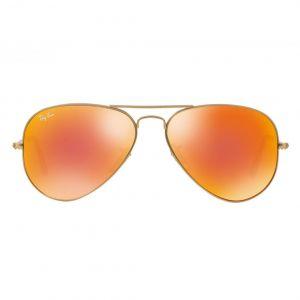 Ray-ban Orange Flash Aviator Sunglasses RB3025 112/69 58