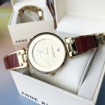Anne Klein Champagne Bangle Women's Watch AK/2512BYGB