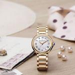 Maurice Lacroix Fiaba Swiss Quartz Gold Women's Watch FA1003-PVP06-170