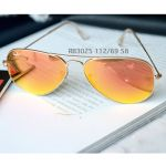 Ray-ban Orange Flash Aviator Sunglasses RB3025 112/69 58