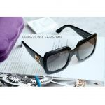 Gucci Square Lens Gradient Gọng Đen GG0053S 001 54