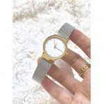 Skagen Freja Two Tone Steel Mesh Women's Watch SKW2666