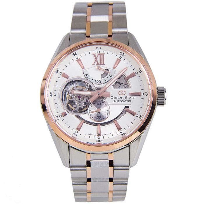 Orient Star Automatic Skeleton Two Tone Men's Watch SDK05001W0