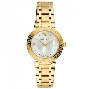 Versace Daphnis Gold Plated Women's Watch V16070017