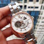 Orient Star Automatic Skeleton Two Tone Men's Watch SDK05001W0