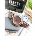 Versus by Versace Mặt Tròn Dây Da Màu Đen SP8170015