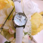 Tissot T-Wave Mother of Pearl White Leather Women's Watch T023.210.16.111.00