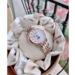 Frederique Constant Moonphase Diamond Two Tone Women's Watch FC-206MPWD1S2B