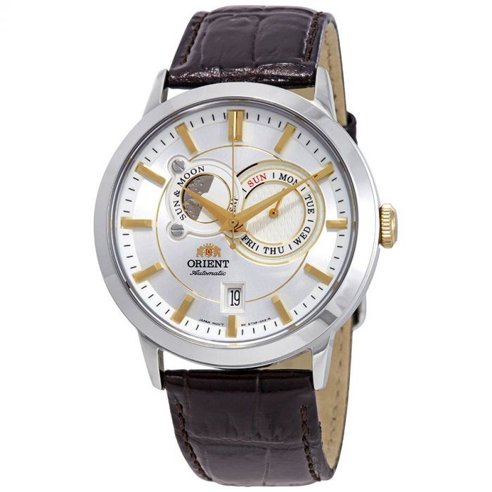 Orient Classic Multi Eyes Sun And Moon Automatic Men's Watch FET0P004W0