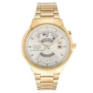Orient Perpetual Calendar World Time Automatic Men's Watch FEU00008CW