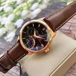 Orient Star Retrograde Brown Leather Men's Watch SDE00003B0