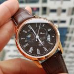 Orient Sun and Moon Gen 2 Automatic Brown Leather Men's Watch ET0T003T