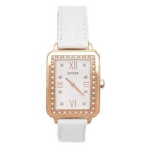 Guess Croc Embossed Rose Gold Tone Women's Watch U0841L5M