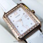 Guess Croc Embossed Rose Gold Tone Women's Watch U0841L5M