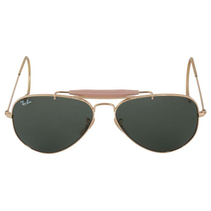 Ray-ban Outdoorsman Aviator Green Classic G-15 Sunglasses RB3030 L0216 58