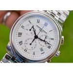 Frederique Constant Classics Chronograph Silver Swiss Quartz FC-292MC4P6B2