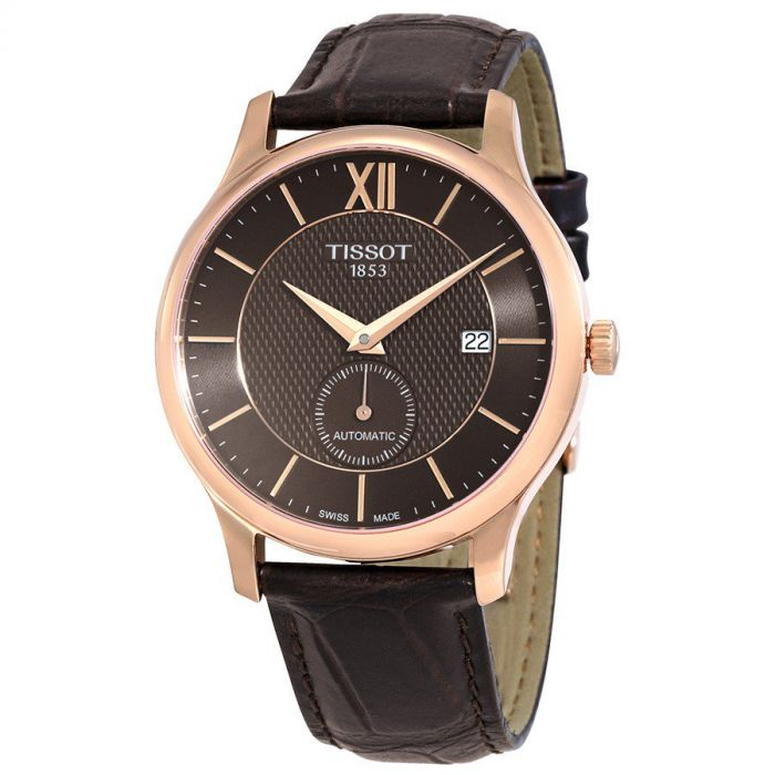 Tissot Tradition Anthracite Small Second Automatic Men's Watch T063.428.36.068.00