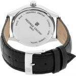 Frederique Constant Classics Day Date Silver Black Leather FC-225ST5B6