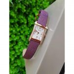 Bulova Diamond Gallery White Dial Purple Women's Watch 98R197