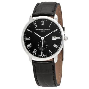 Frederique Constant Slimline Black Dial  Men's Watch FC-245BR5S6