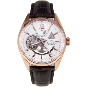 Orient Star Power Reserve Open Heart Automatic Men's Watch SDK05003W0