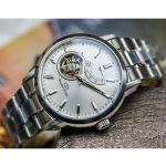 Orient Star Open Heart Sapphire Automatic Stainless Steel Men's Watch SDA02002W0