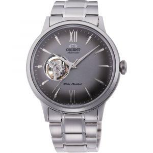 Orient Classic Bambino Automatic Open Heart Grey Men's Watch RA-AG0029N