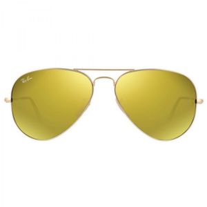 Ray-ban Original Aviator Yellow Flash Sunglasses RB3025 112/93 58-14