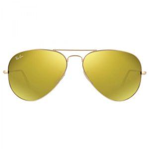 Ray-ban Original Aviator Yellow Flash Sunglasses RB3025 112/93 58-14