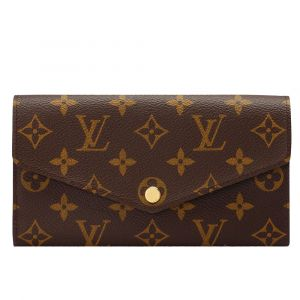 Louis Vuitton Monogram Portefeiulle Sarah Lòng Hồng M62235
