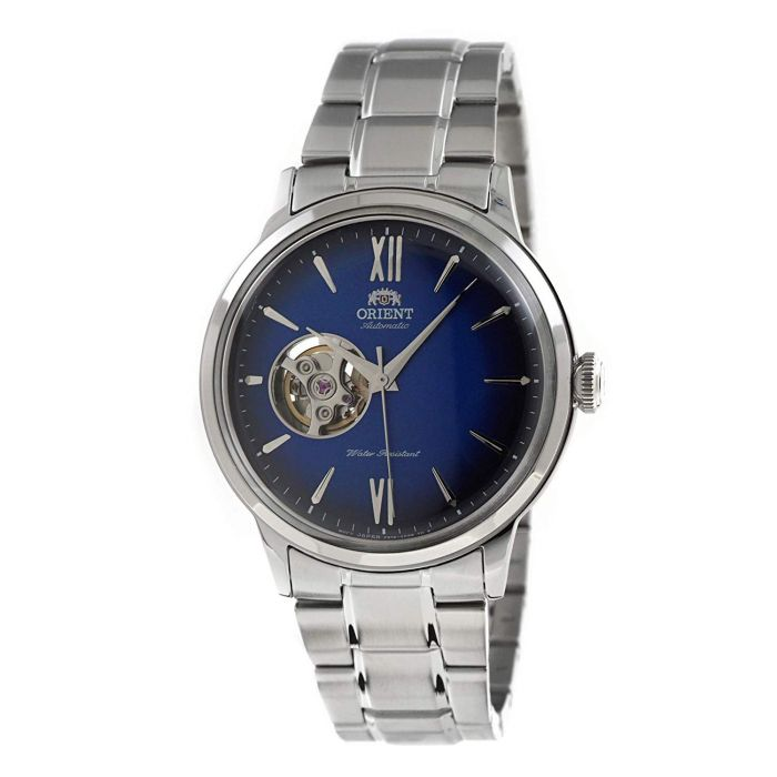 Orient Classic Bambino Automatic Open Heart Blue Men's Watch RA-AG0028L, RA-AG0028L00C