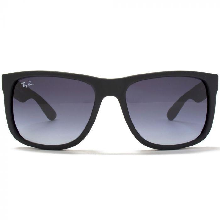 Ray-ban Justin Classic Grey Gradient Unisex Sunglasses RB4165 601/8G 55
