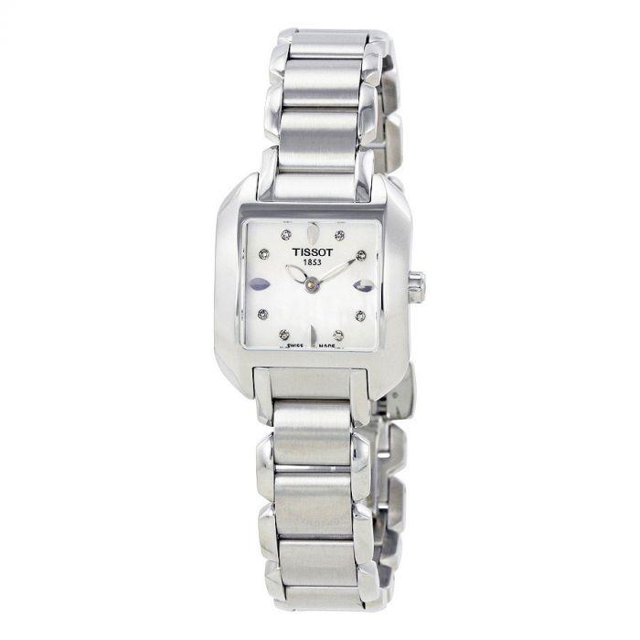 Tissot T-Wave Mother of Pearl Diamond Women's Watch T02.1.285.74