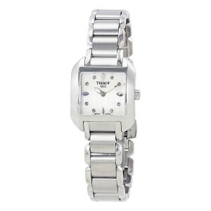 Tissot T-Wave Mother of Pearl Diamond Women's Watch T02.1.285.74