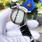 Anne Klein Black Dial Ceramic Women's Watch AK/1018BKBK